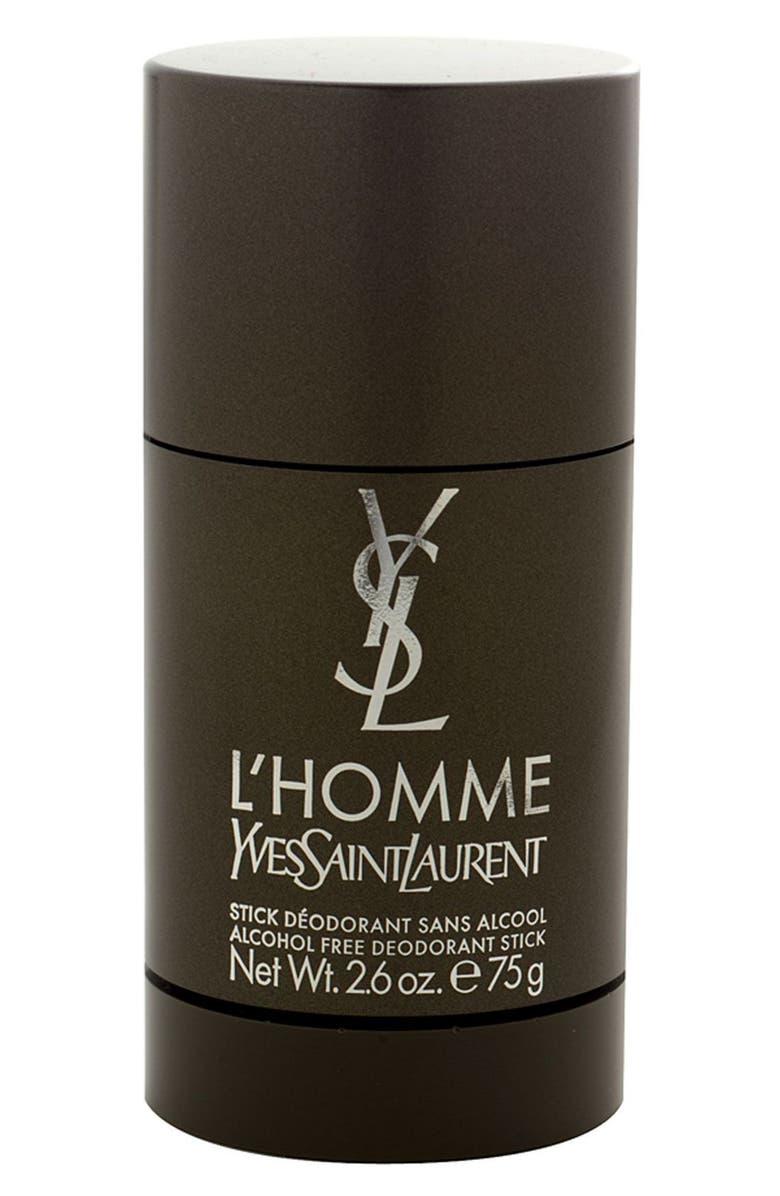 YVES SAINT LAURENT 'L'Homme' Alcohol Free Deodorant Stick, Main, color, NO COLOR