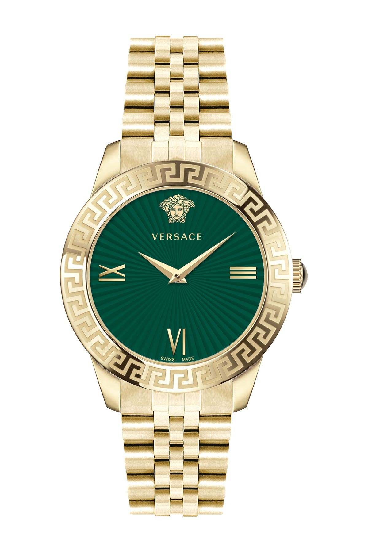 Image of Versace Women's Greca Signature Lady Bracelet Watch, 38mm