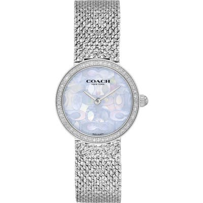 Coach Hayley Mesh Strap Watch, 27Mm