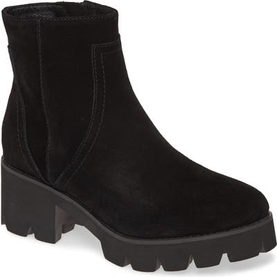 Seychelles Engaging Platform Bootie, Black
