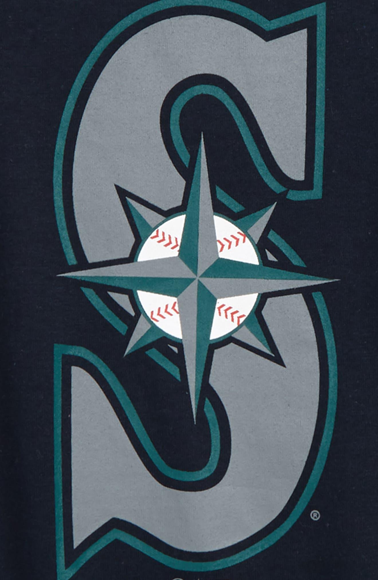 ,                             Super Rival Seattle Mariners T-Shirt,                             Alternate thumbnail 2, color,                             FALL NAVY