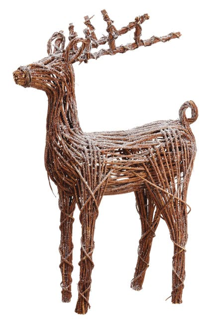 """Image of ALLSTATE 49"""" Battery Operated Snow Reindeer with Light"""
