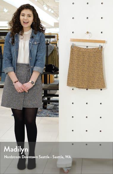 Print Mini Skater Skirt, sales video thumbnail