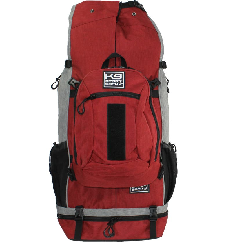 K9 SPORT SACK Rover Dog Backpack, Main, color, RED