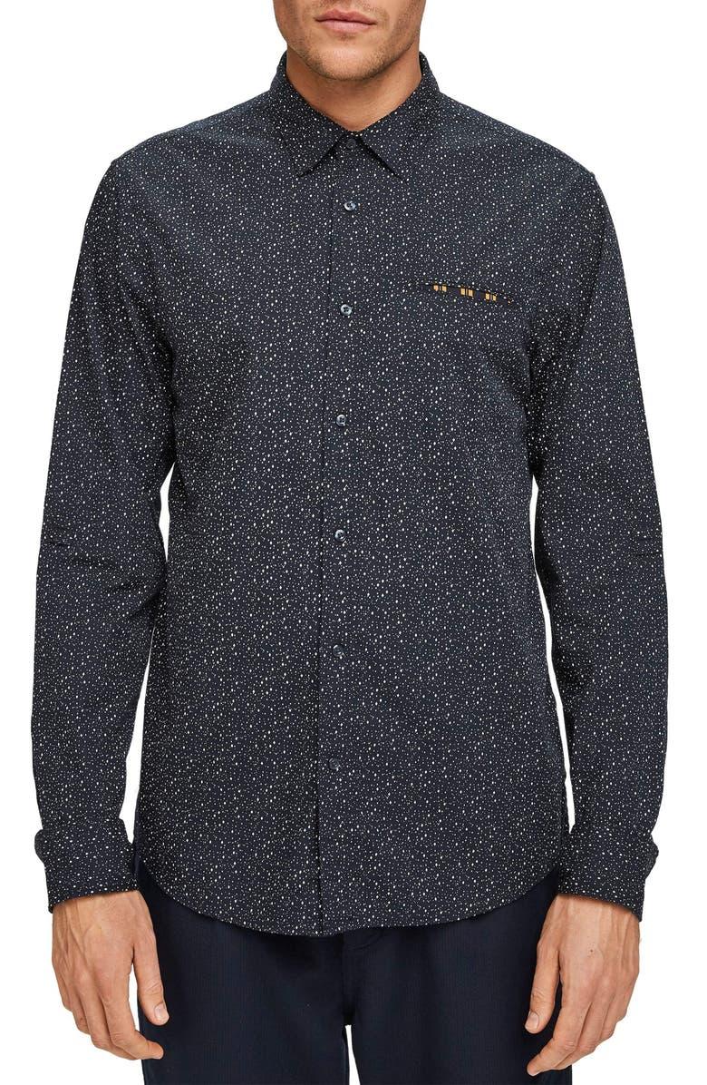 SCOTCH & SODA Slim Fit Button-Up Pocket Shirt, Main, color, 021