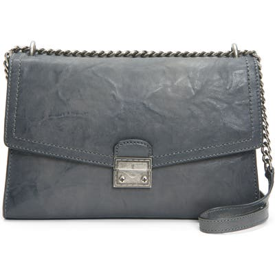Frye Ella Leather Shoulder Bag - Grey