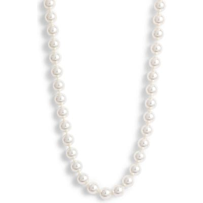 Nadri Simulated Pearl Collar Necklace