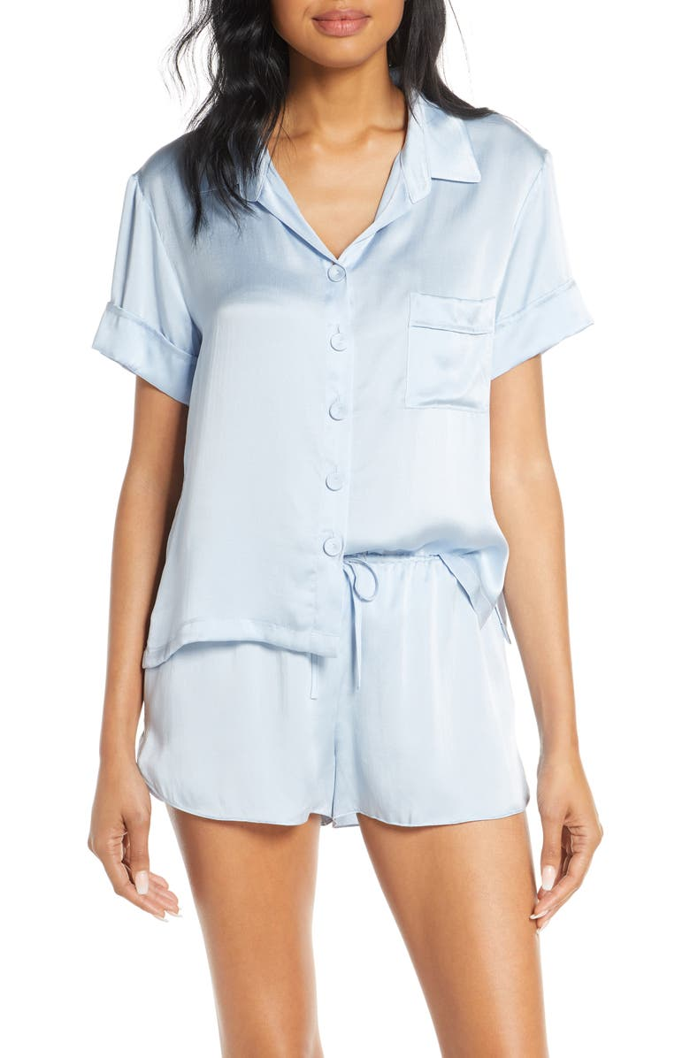 Silk Short Pajamas by Papinelle