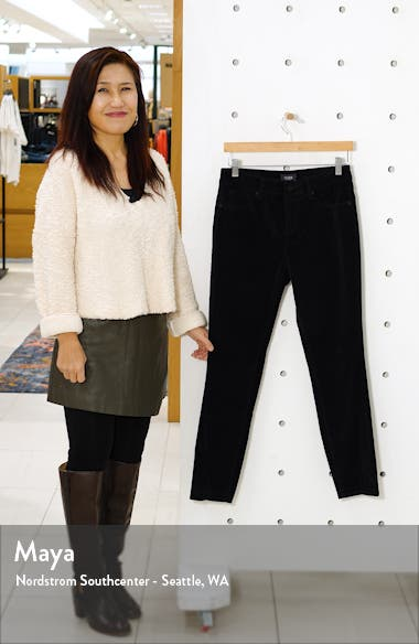 Ami Twisted Seam Split Ankle Skinny Jeans, sales video thumbnail