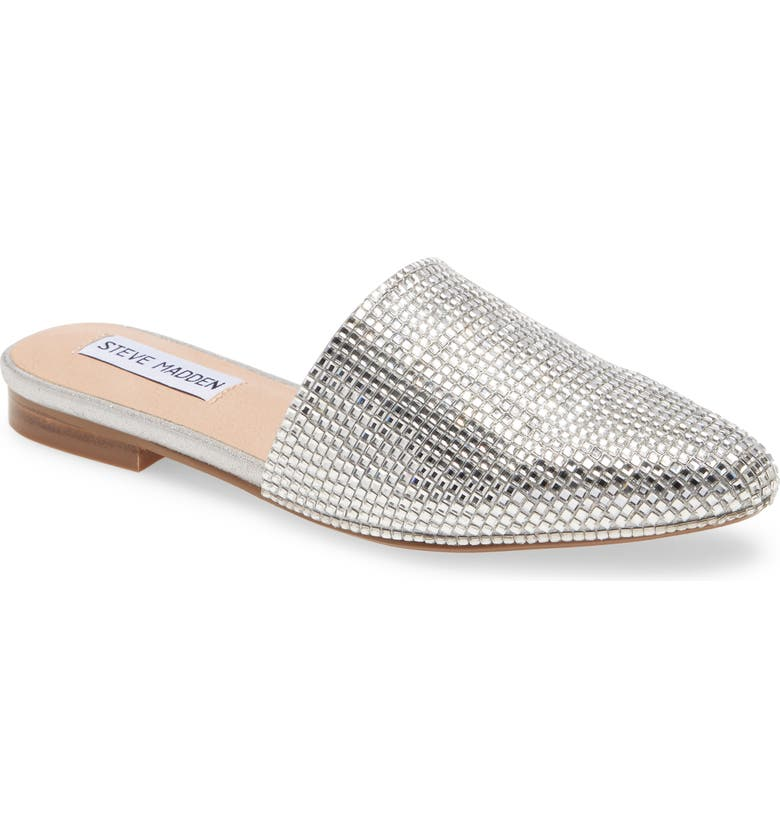 STEVE MADDEN Trace Mule, Main, color, CRYSTAL