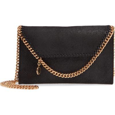 Stella Mccartney Falabella Faux Leather Crossbody Bag - Black