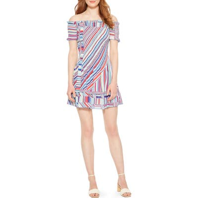 Parker Zizola Off The Shoulder Minidress, Pink