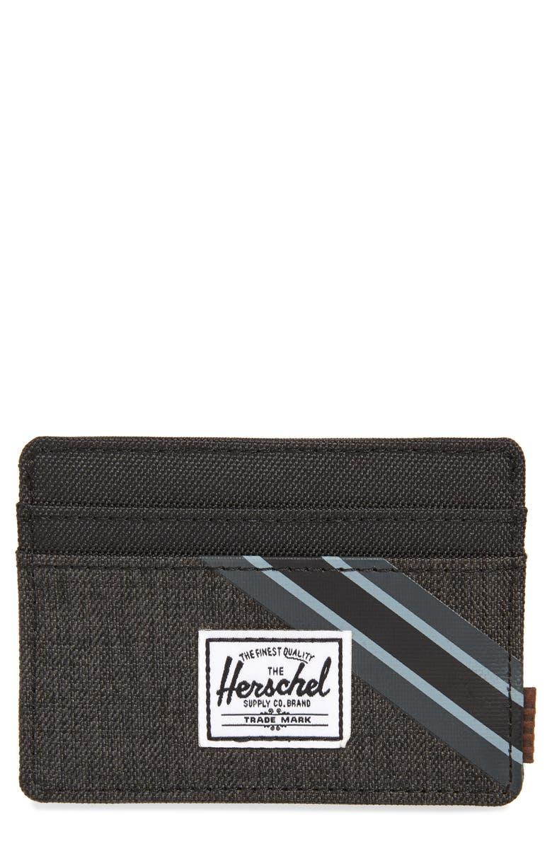 HERSCHEL SUPPLY CO. Charlie RFID Card Case, Main, color, 002