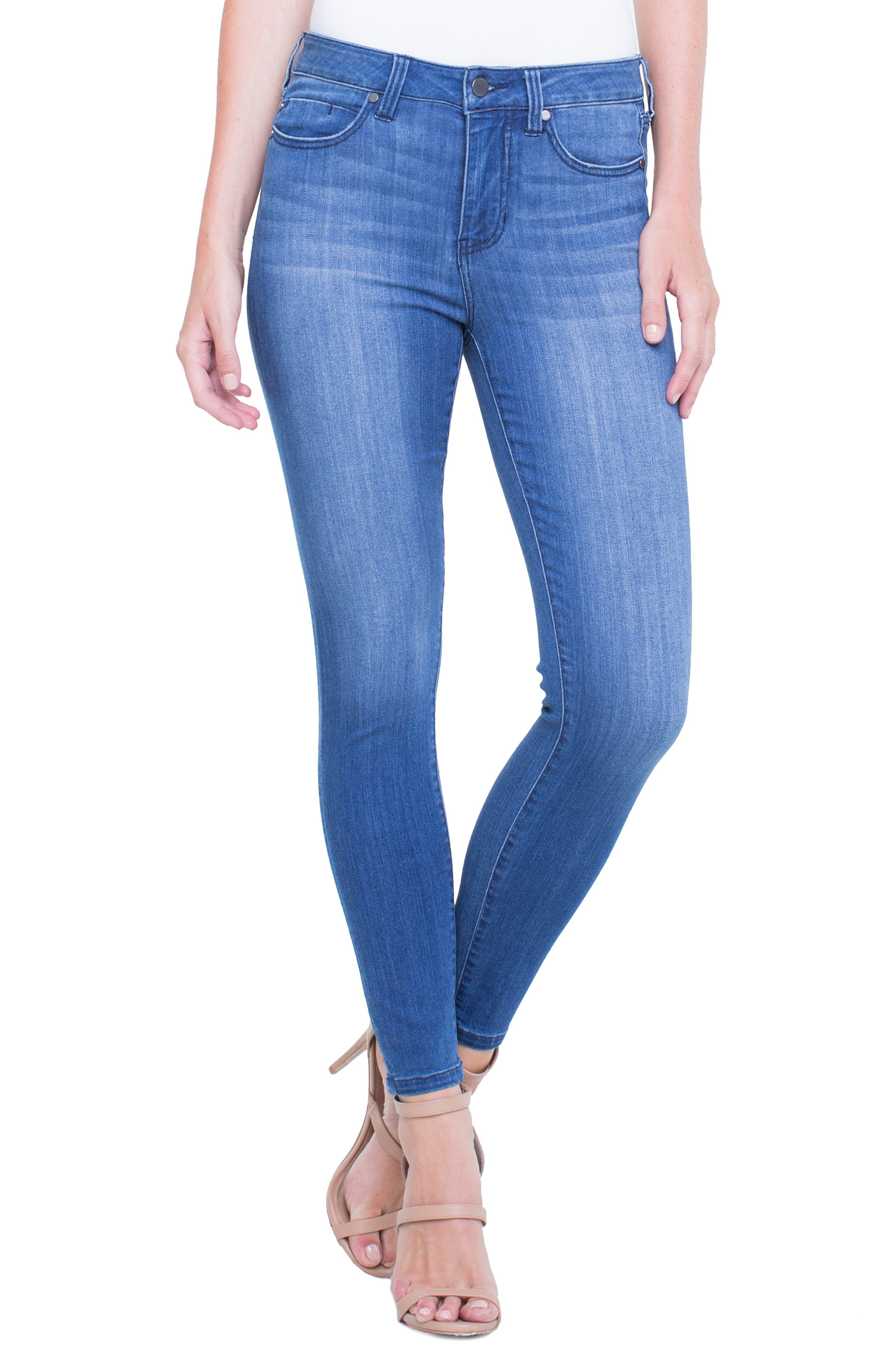 The skinnies you\\\'ll reach for on repeat are this curve-flattering pair of silky-soft denim with just the right amount of stretch. Style Name: Liverpool Abby Ankle Skinny Jeans. Style Number: 5931428. Available in stores.