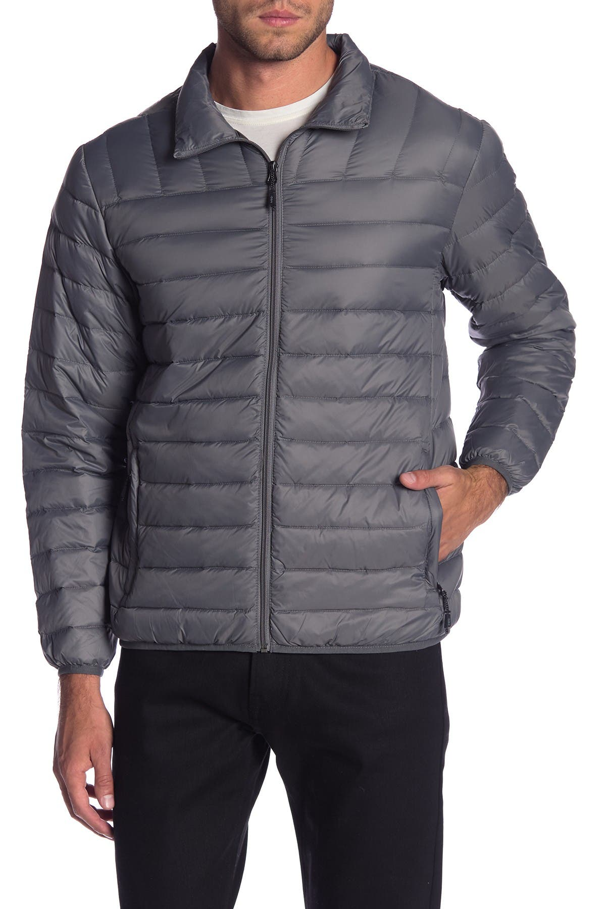 Image of Hawke & Co. Quilted Packable Nylon Jacket