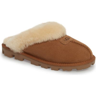 UGG Genuine Shearling Slipper, Brown