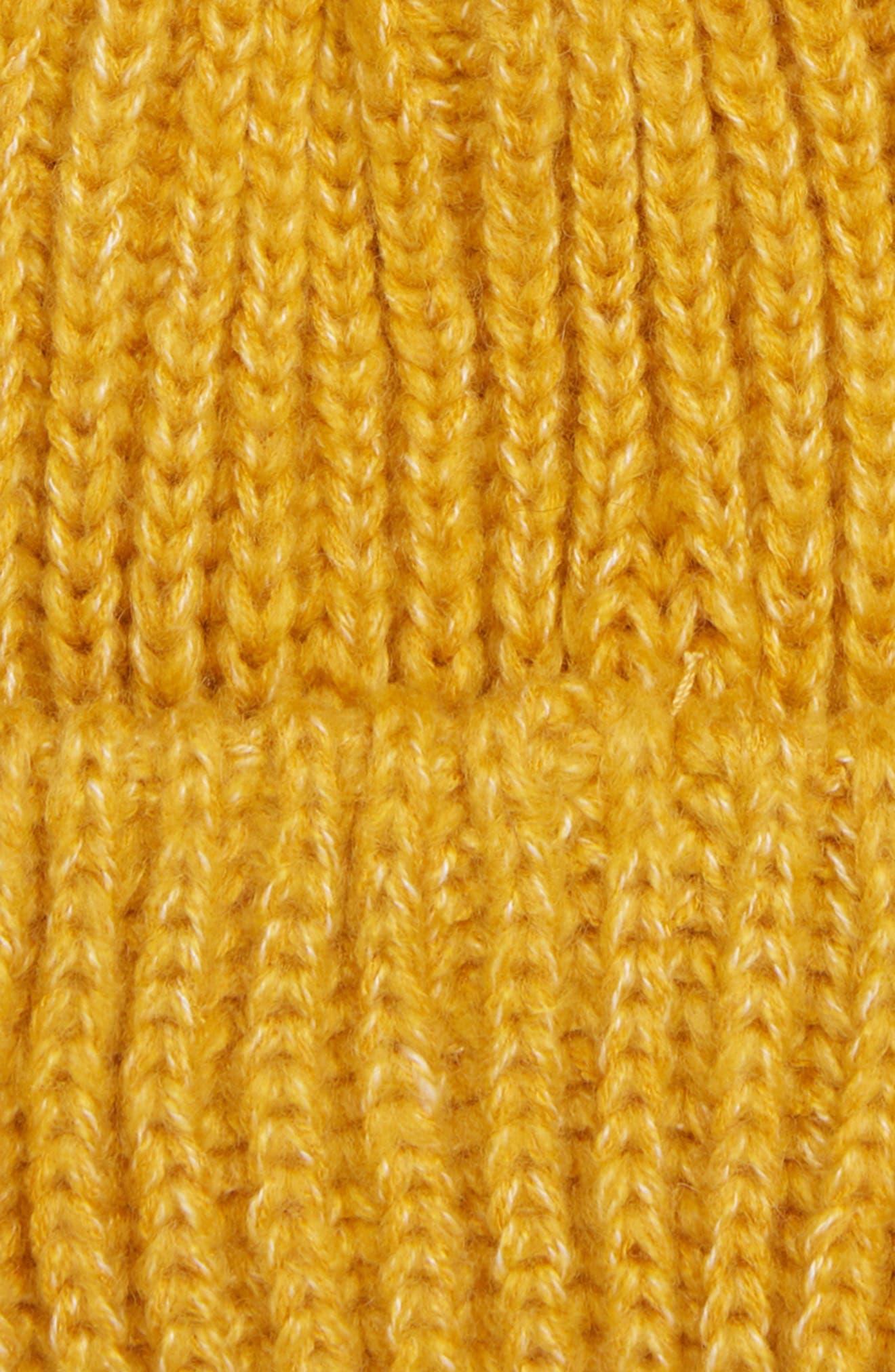 ,                             Faux Fur Pompom Beanie,                             Alternate thumbnail 14, color,                             701