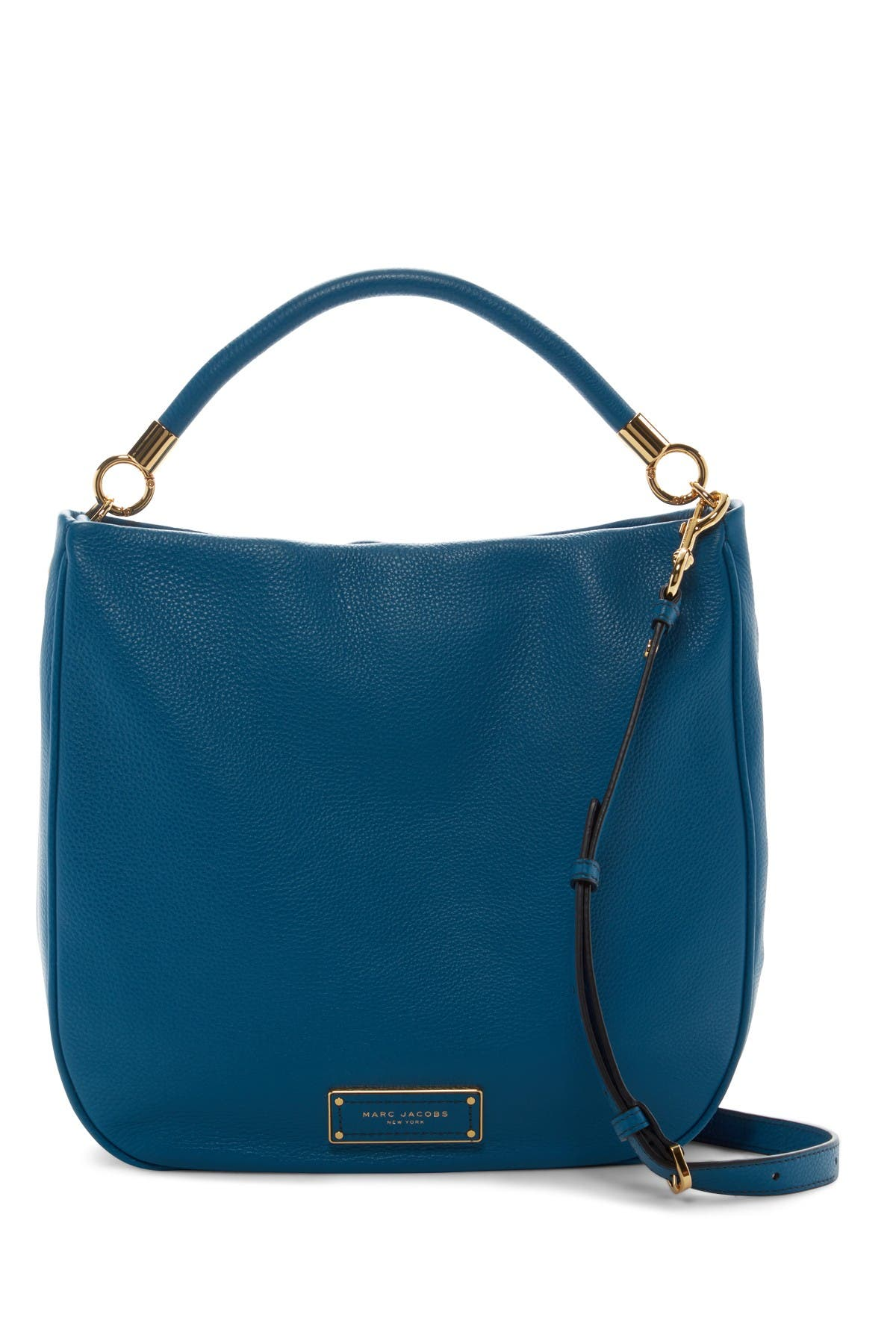 Image of Marc Jacobs Too Hot to Handle Leather Hobo Bag
