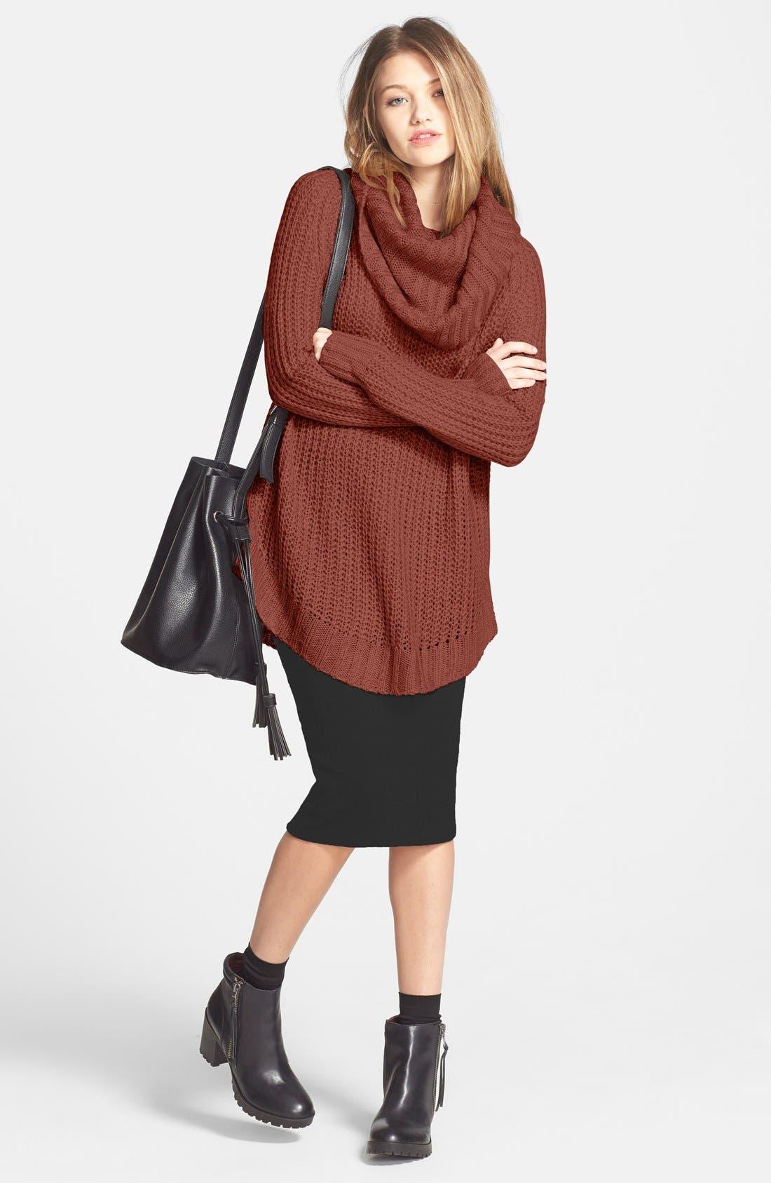 ,                             Cowl Neck Sweater,                             Alternate thumbnail 30, color,                             600