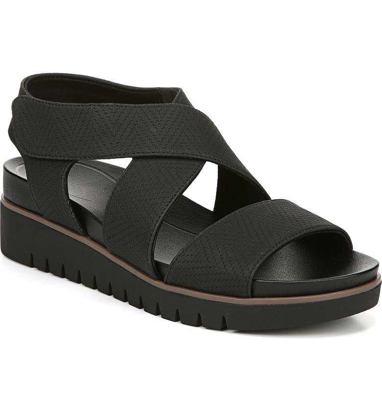 DR. SCHOLL'S Get It Sandal, Main, color, 001