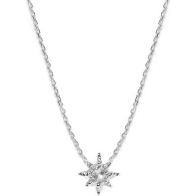 Anzie Starburst Pendant Necklace