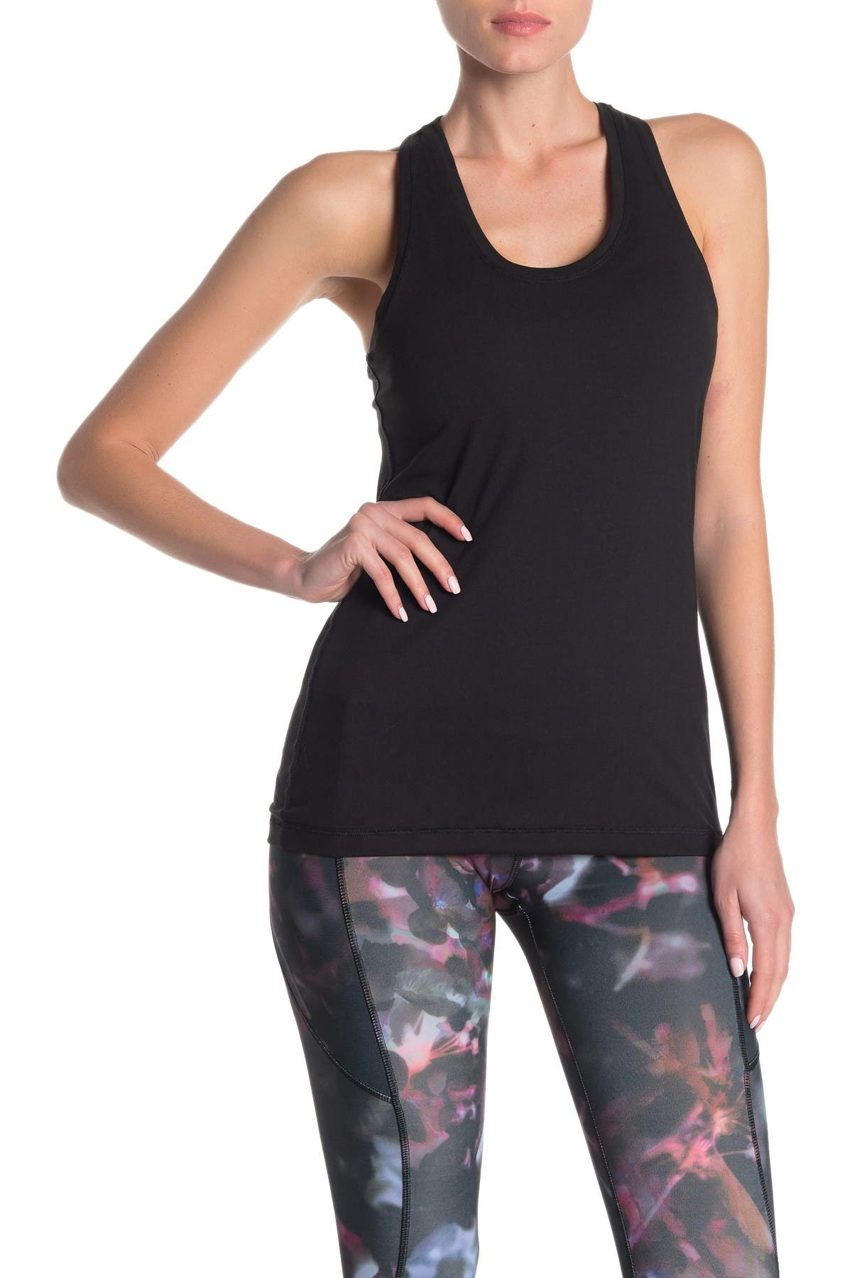 Image of X by Gottex Mesh Racerback Tank Top