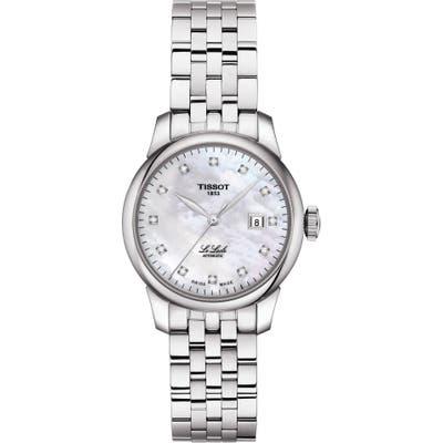 Tissot Le Locle Diamond Bracelet Watch, 2m