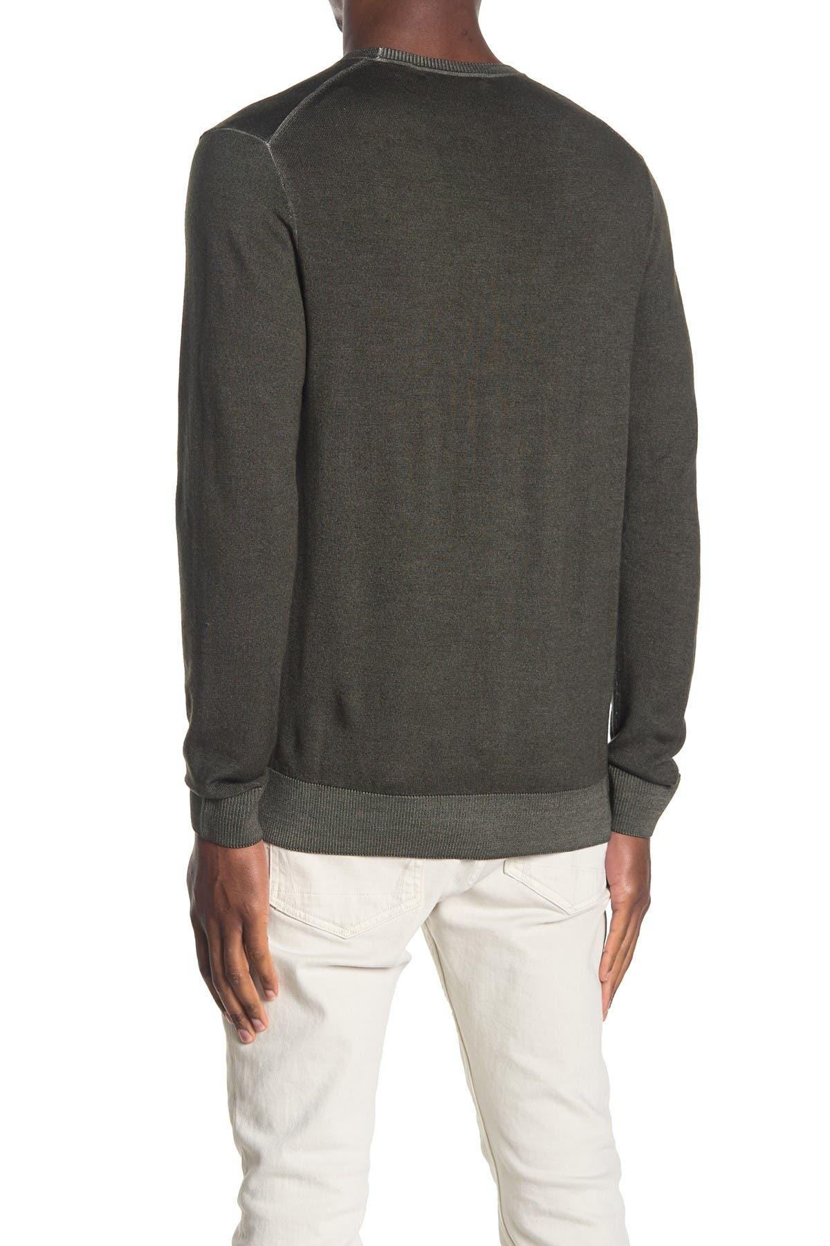 Image of Michael Kors Merino Wool Crew Neck Sweater