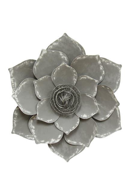 Image of Stratton Home Grey Lotus Wall Decor