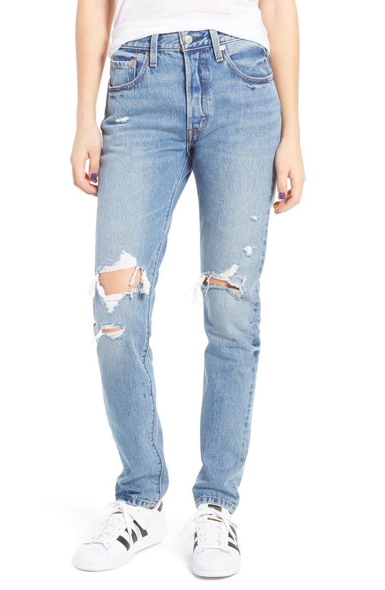 9da028996c7665 Levis® 501 Ripped Skinny Jeans (Old Hangouts) | Nordstrom
