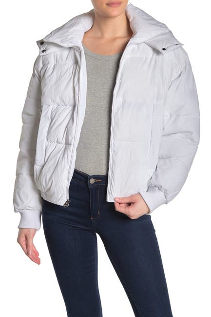 Image of Lucky Brand Missy Short Puffer Jacket