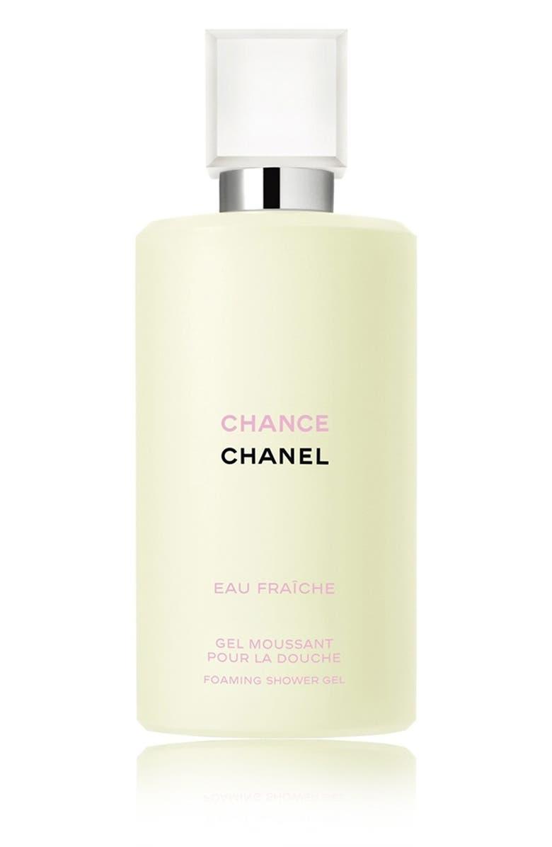 CHANEL CHANCE EAU FRAÎCHE Foaming Shower Gel, Main, color, NO COLOR