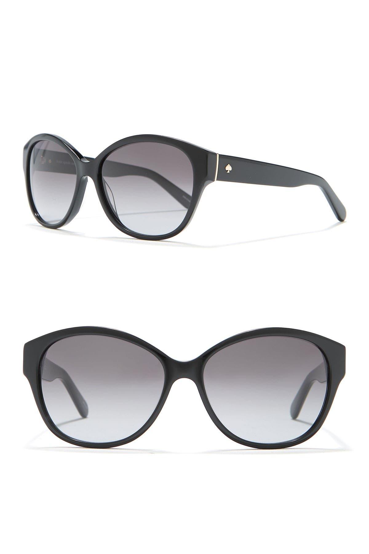 Image of kate spade new york kiers 56mm round sunglasses