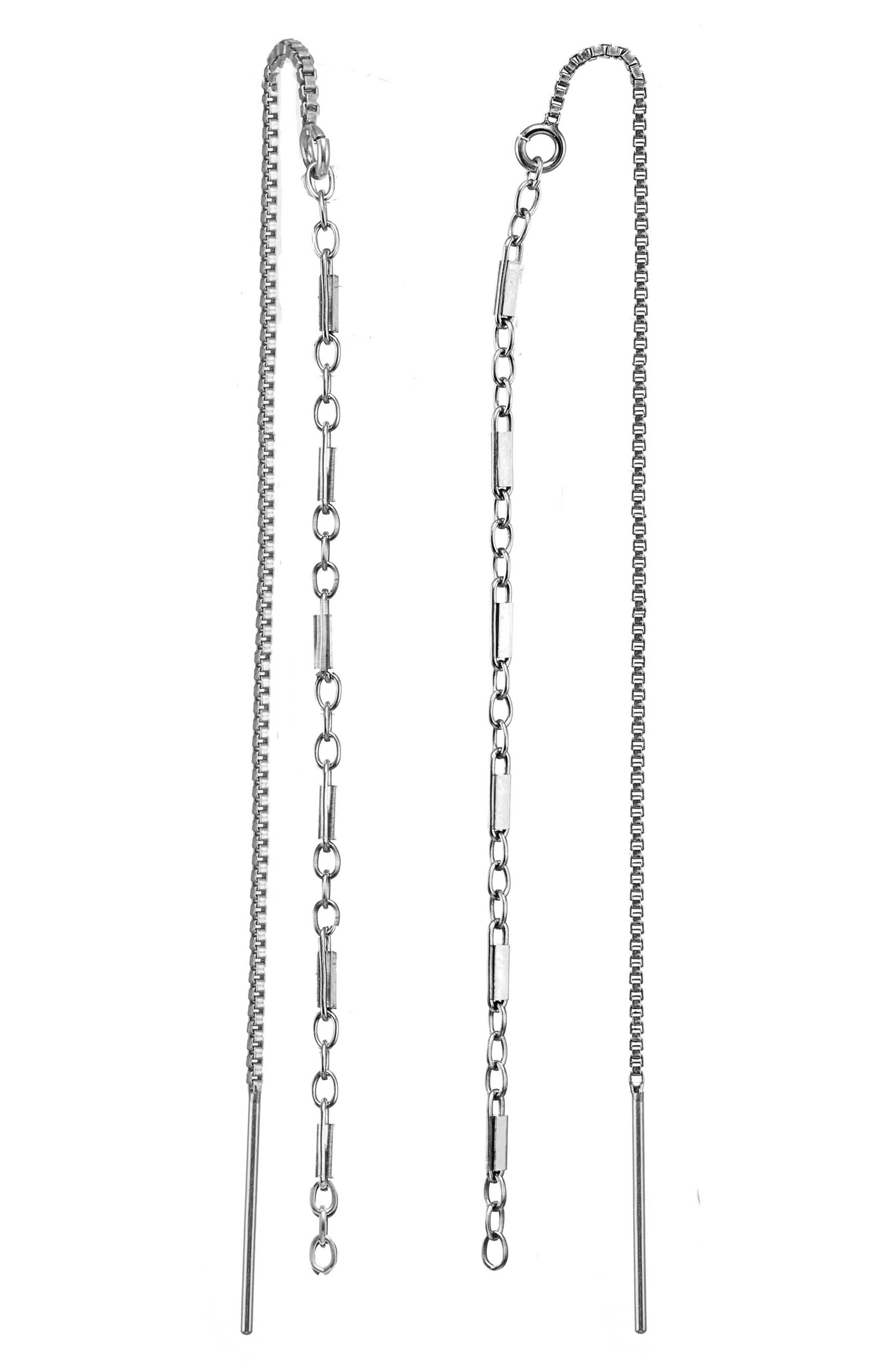 Nevaeh Threader Earrings