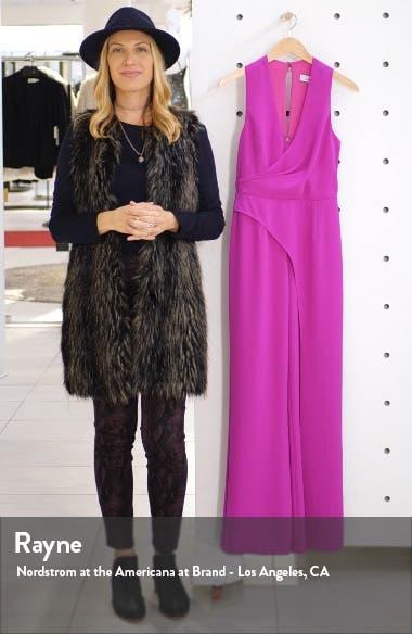 Katerina Faux Wrap Jumpsuit, sales video thumbnail