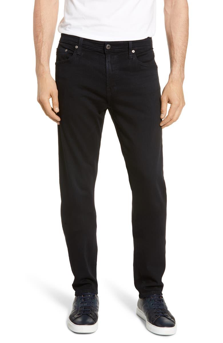 AG Everett Slim Straight Leg Jeans, Main, color, 001