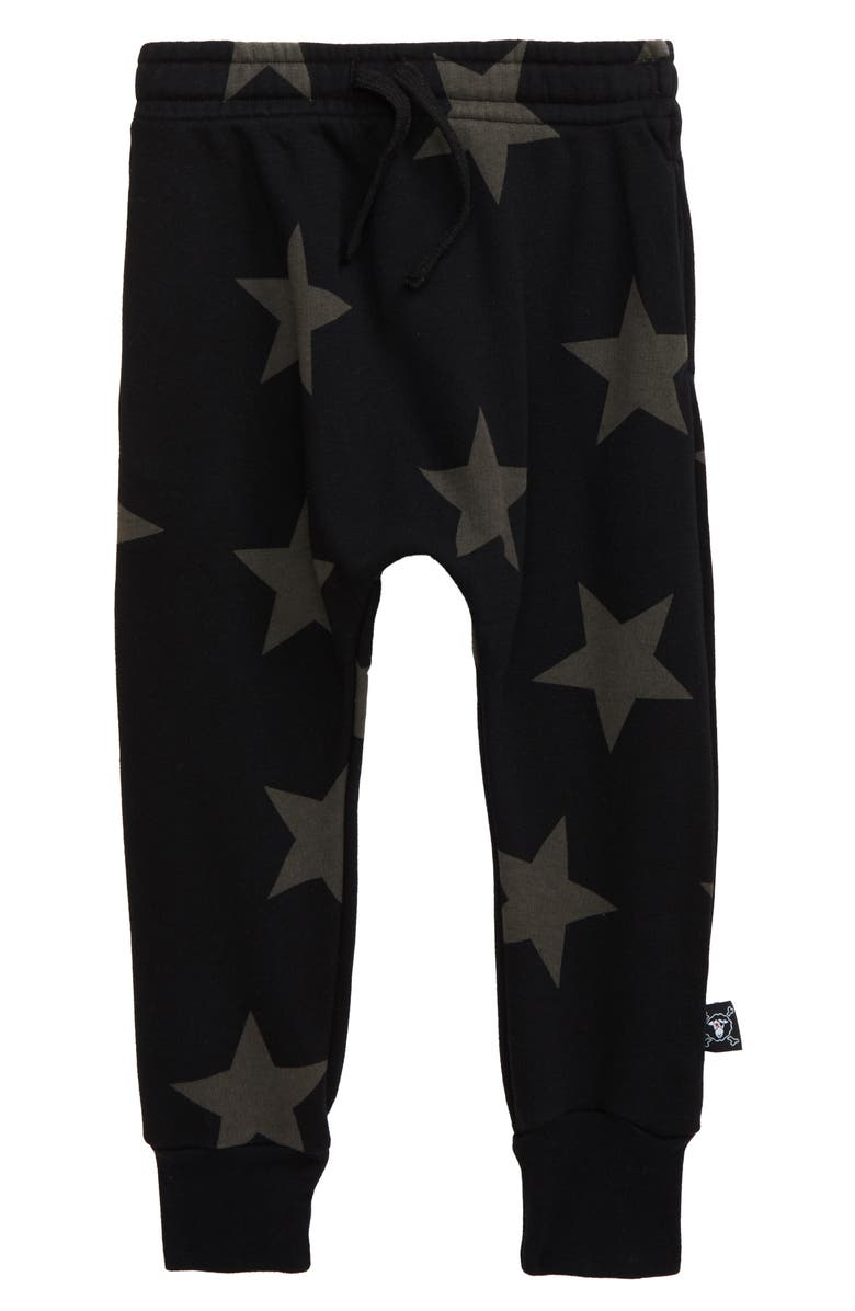 NUNUNU Star Baggy Pants, Main, color, 001