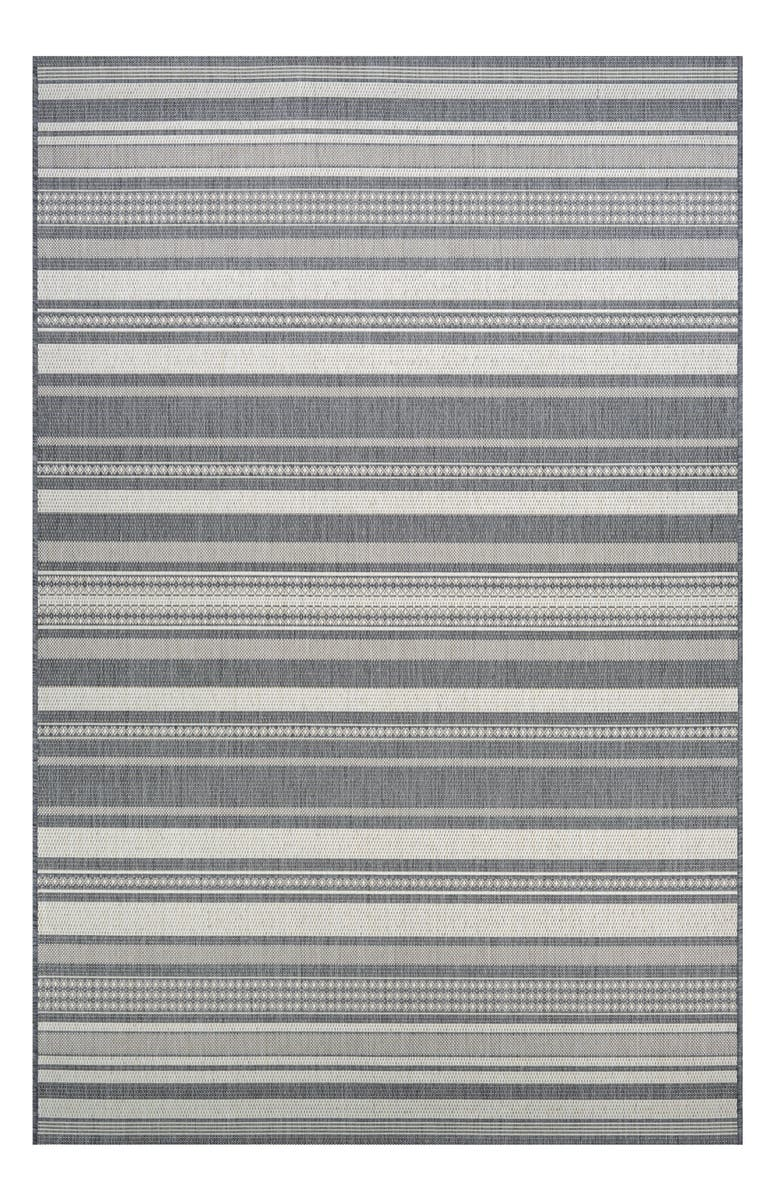 COURISTAN Gazebo Indoor/Outdoor Rug, Main, color, CHAMPAGNE/ GREY