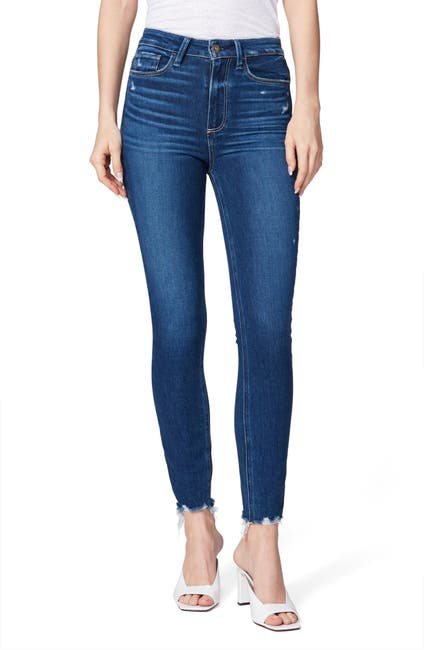 Image of PAIGE Transcend Margot High Waist Ankle Skinny Jeans