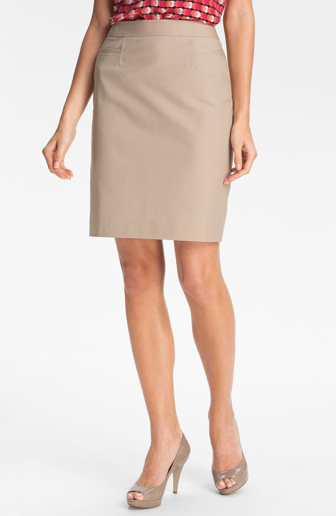 ,                             Stretch Woven Skirt,                             Main thumbnail 10, color,                             250