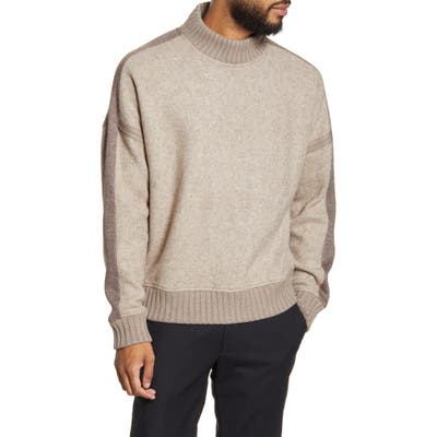 Club Monaco Mock Neck Sweater, Beige