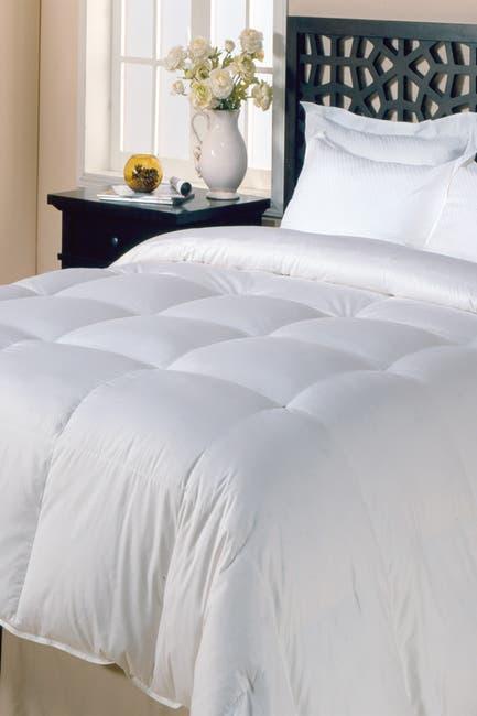 Image of Blue Ridge Home Fashions Copenhagen High Warmth White Goose Down & Feather Comforter - King - White