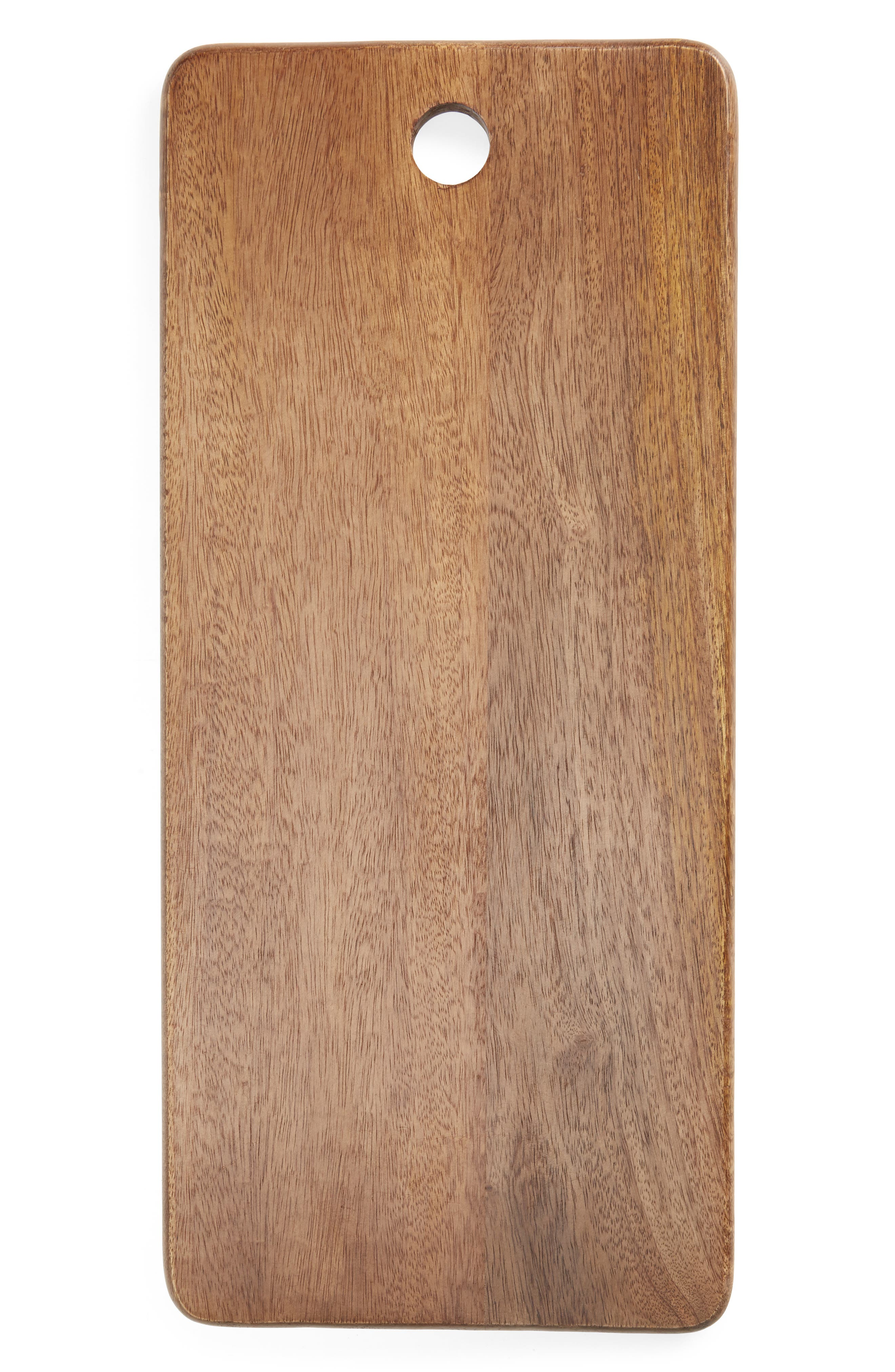 Made from mango wood, which is resistant to water damage, this serving board is a beautiful way to present cheeses, quick bites and small sweets. Style Name: Nordstrom Mango Wood Serving Board. Style Number: 6016877. Available in stores.