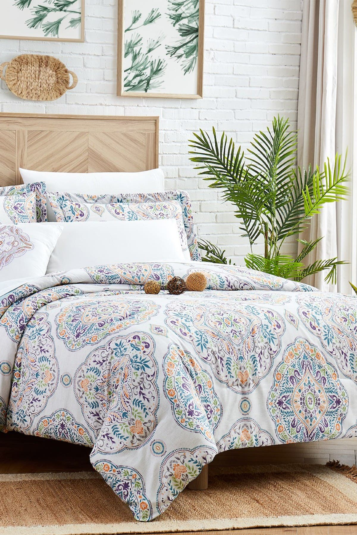Image of Modern Threads Complete 8-Piece Bedding Set - Castell - Full