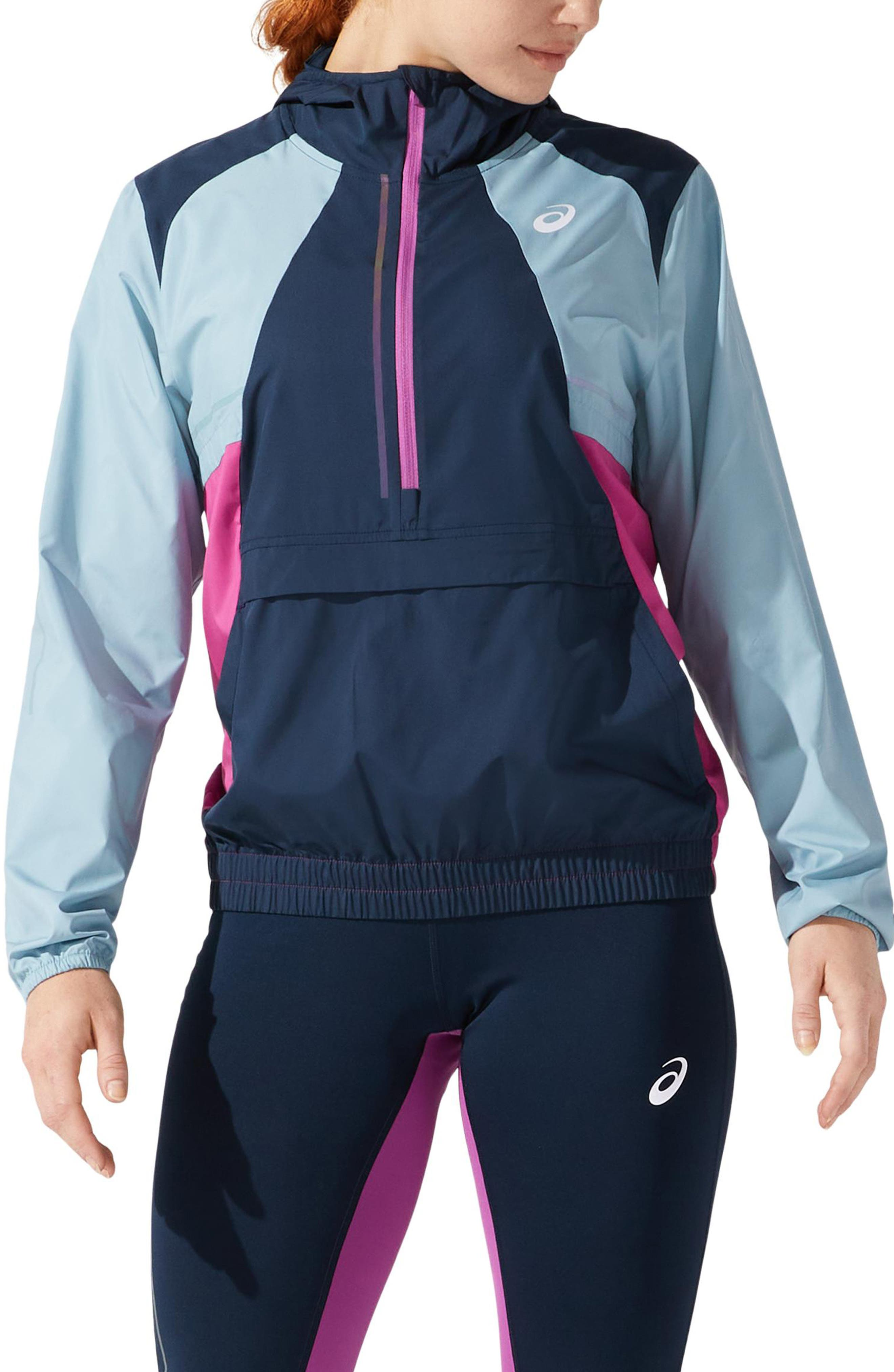 Women's Asics Visibility Water Resistant Hooded Jacket