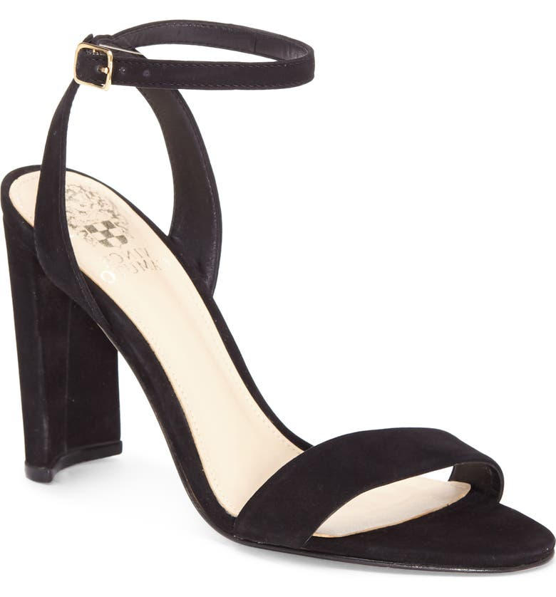 VINCE CAMUTO Kresseya Sandal, Main, color, BLACK