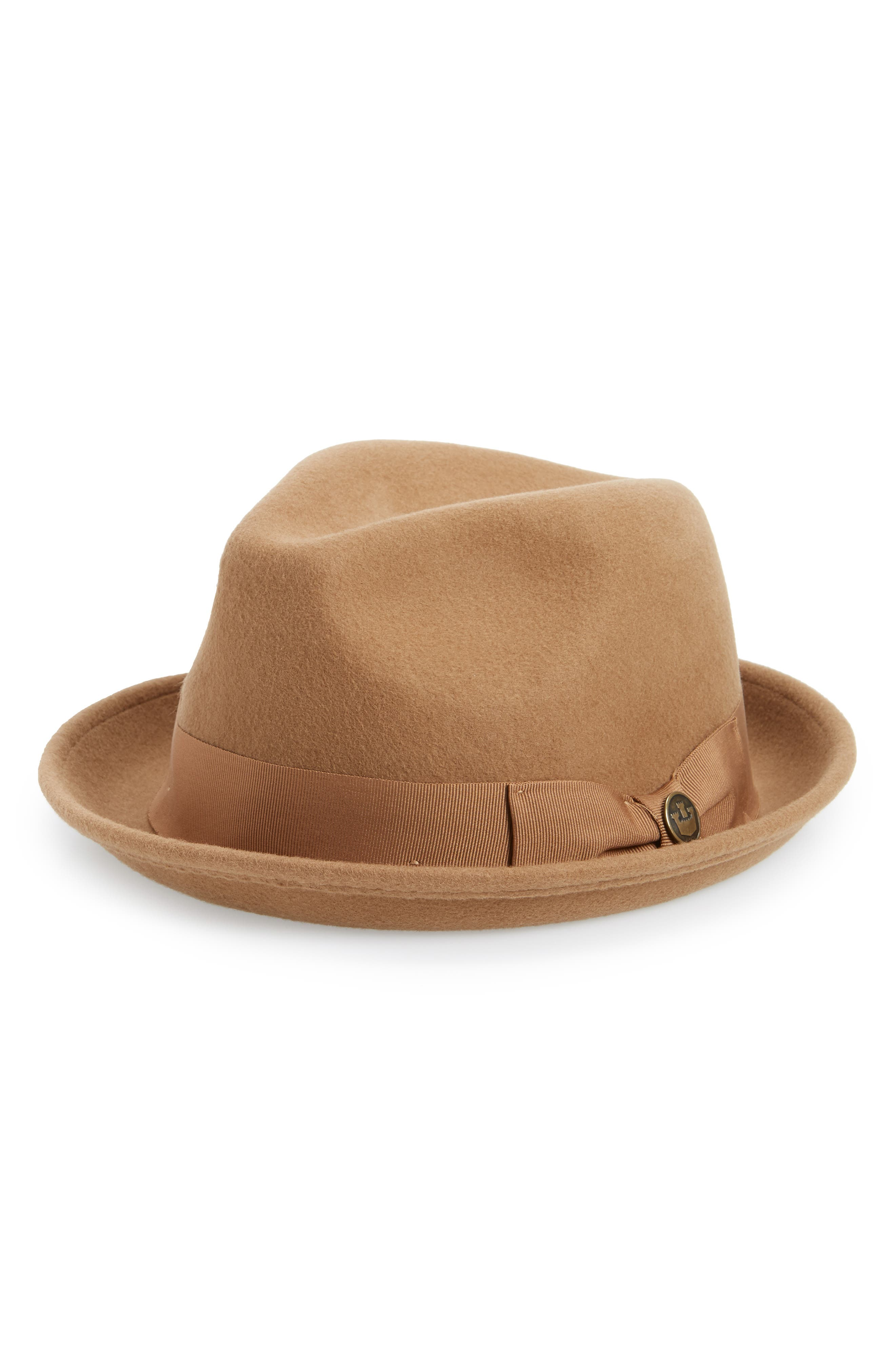 Goorin Bros. The Good Boy Felt Wool Fedora - Beige