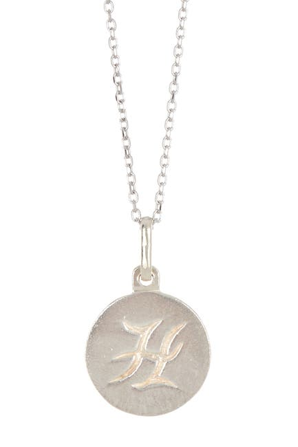 "Image of Anzie ""H"" Initial Disc Pendant Necklace"