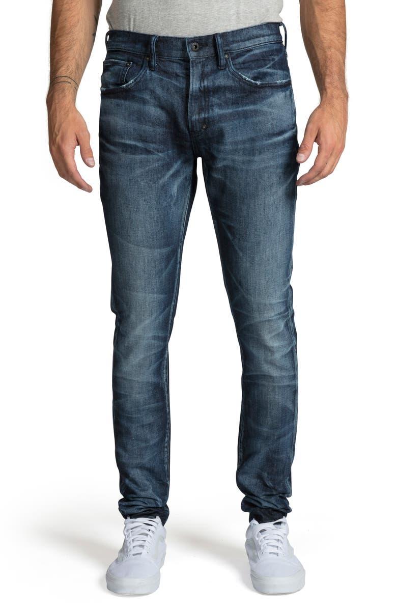 PRPS Windsor Skinny Fit Jeans, Main, color, STEAM