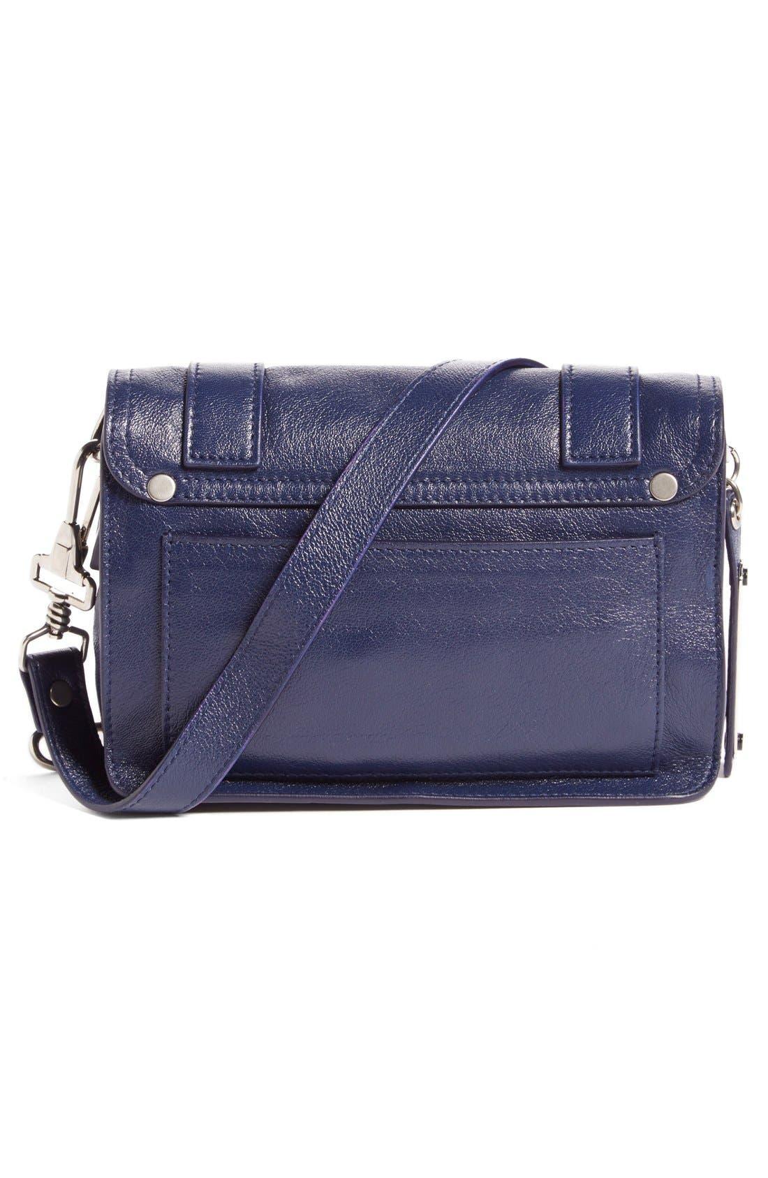 ,                             'Mini PS1' Lambskin Leather Crossbody Bag,                             Alternate thumbnail 18, color,                             400